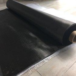 China Hot Sale 1K 100GSM Carbon Fiber Fabric