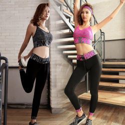 Hot Selling Comfortable Pack Sports Bra Legging Sports Set