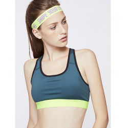 Fashion Polyester Elastic Sweatband Running Sports Headband (YH-SH124)