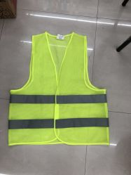 Cheap Price Stock 60GSM Green Workwear Reflective Safety Guilet Vest