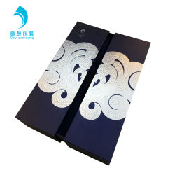 High Quality Tailored Magnetic 2 Door Open Gift Wine Packing Box with Black EVA Insert