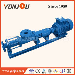 Chemical ISO9001 Certificated G Type Rotor Hydraulic Electric Slurry Pump, Single Screw Pump Mono Screw Oil Pump (G)