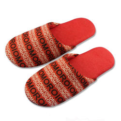 8fc4361476f Red Color Soft House Slipper Plush Fleece Lined Indoor Slip