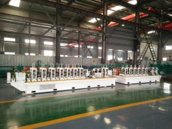 High Efficiency Carbon Steel / Iron/ERW Tube High Frequency Welding Pipe Making Machine