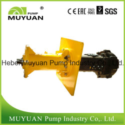 Wear Resisant Single Stage Hydrocyclone Feed Centrifugal Slurry Pump