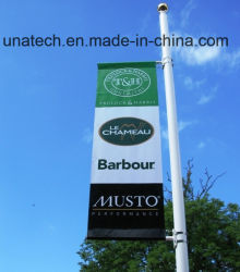 Metal Street Light Pole Advertising Flag Hardware (BS46)