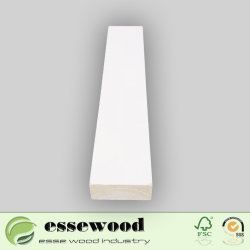 Best Price White Primed Architrave Wood Moulding for Wholesale