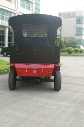 Deft Design Ce Certificate 4 Wheel Electric Vehicle for Tourism