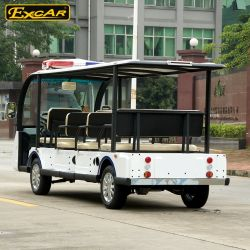 Wholesales 72V 11 Seater Electric Sightseeing Car Tour Bus