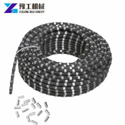 Machine Tools Cutting Beads Diamond Wire Saw for Quarry Stone