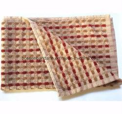 OEM Produce Custom Checked Jacquard Cotton Terry Tea Towel Kitchen Towel