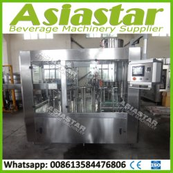 Automatic 6000bph Orange Juice Beverage Bottling Packaging Machine