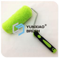 Yellow Acrylic Paint Roller Brush Hand Tool Hardware