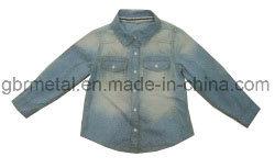 Kids' 100% Cotton Denim Long Sleeve Shirt Wh1022
