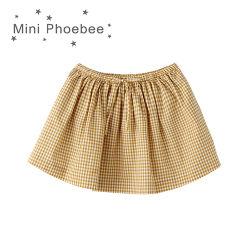 Wholesale 100% Cotton Children Clothes Girls Skirt for Summer
