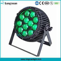 Outdoor 12PCS 15W RGBW 4in1 Zoom PAR Can LED for Party