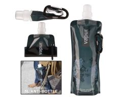 PE Foldable Outdoor Sports Water Bag with Clip