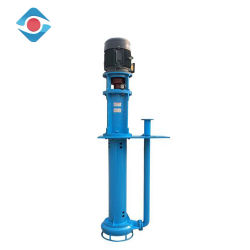 Low Hydraulic Loss Anti-Corrosive Single Stage Vertical Centrifugal Slurry Pump
