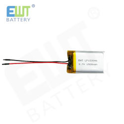 High Discharge Ewt Lp103046 1500mAh for Fax Machine Use