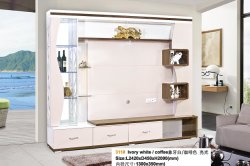 Classical Design TV Wall Unit for Living Room Furniture