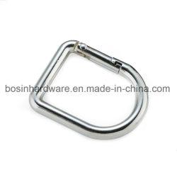 Decorative Metal Spring Gate D Ring