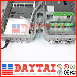 China Manufacture Outdoor 4 Port FTTH Gepon Olt with EDFA
