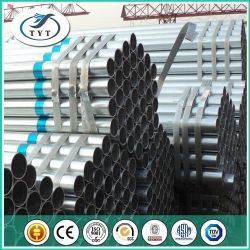 ERW Galvanized Steel Pipe Factory