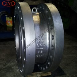 Fast Delivery B62 Dual Plate Lug Type Wafer Check Valve with Price