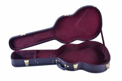 Arch Top Fashion Design Western Acoustic Guitar Case