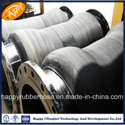 Industrial Flexible Rubber Slurry Dredge Hose with Flanges