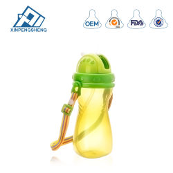 Plastic Baby Water Cup Type PP Baby Water Bottle for Wholesale