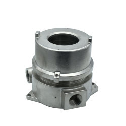 OEM Custom Precision Cast and CNC Machined 316 Stainless Steel Hardware Electric Junction Box