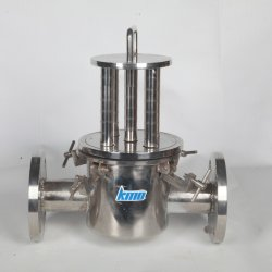 Kmo 304 Stainless Steel Strainer Magnetic Rod Filter for Industry