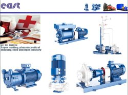 Tur Style Horizontal Sanitary Pump for Food and Medicine Line