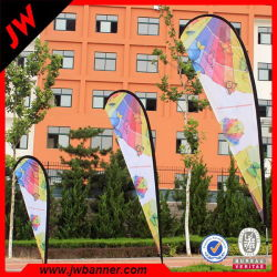 Free Design Full Color Display Teardrop Flags Design