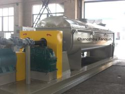 Paddle Dryer for Wastewater Slurry
