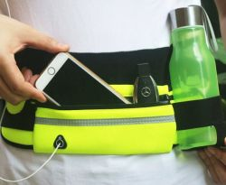 Customized Outdoor Sports Mobile Phone Waist Bag