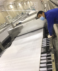 Automatic Soft Flexible Tile Production Line with SGS Approval