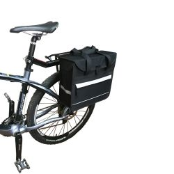 Bicycle Accessories 600d Polyester Bike Rear Bag for Sports (HBG-012)