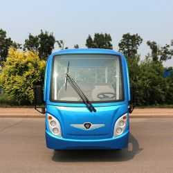 14 Seater Huge Capacity Deep Cycle Lead-Acid Battery Classic Shuttle Electric Tourist Sightseeing Car with Ce Certificate & SGS