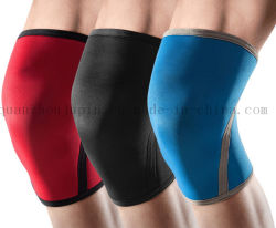 OEM Polyester Knee Support Knee Pad for Weightlifting Bodybuilding