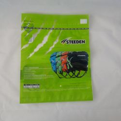 PE Stick Zip Bags Printed for Sports Packaging Zipper Bags
