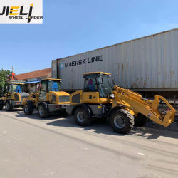 Cheap Price 1.5 Tons Zl15 Ce Mini Front End Wheel Loaders Best Sale