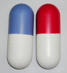 PU Antistress Toy Capsule Pill Design