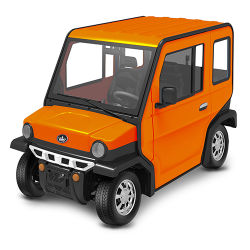 4 Seat Full Closed Electric Car / Utility Vehicle /Electric Vehicle