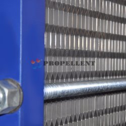 Free Flow Wide Gap Replacement Plates for Plate Heat Exchanger