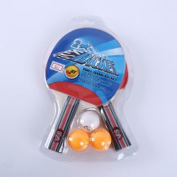 Hot Sales Kids Exercise Poplar Wood Table Tennis Rackets Sport Goods