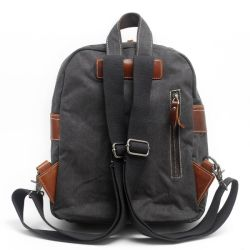 Hot Sale Canvas Leather Girl Mini Pack Bag (RS-K2021)