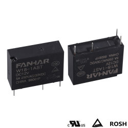 10A Power Relay (W18) Apply to Home Appliance, Smart Home, Electric Power Meter