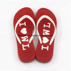9c96ed68f Factory Wholesale Custom Logo PVC Traps EVA Plastic Slippers Flip Flop  Sandals